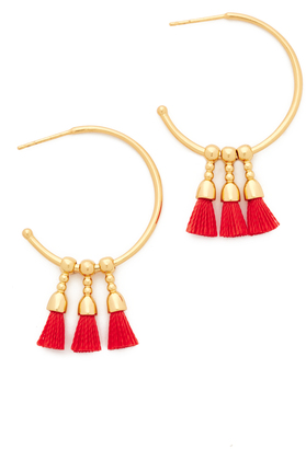 Gorjana Baja Hoop Earrings $45 thestylecure.com