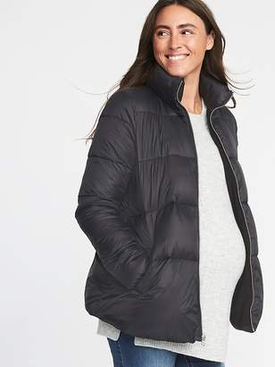 Old Navy Maternity Frost-Free Puffer Jacket