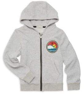 Appaman Little Boy's & Boy's Downtown Zip-Front Hoodie