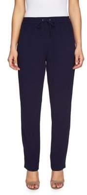 Chaus Slim Side-Zip Pants