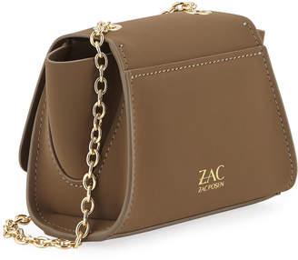 Zac Posen Eartha Mini Chain Crossbody Bag, Medium Green