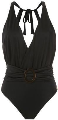 BRIGITTE swimsuit with buckle detail
