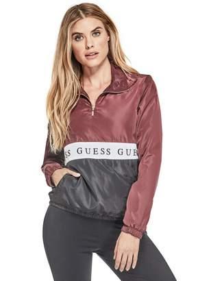 Factory Guess Women's Zida Logo Windbreaker Pullover