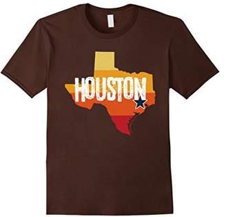 Houston Baseball Throwback Vintage Stripe T Shirt