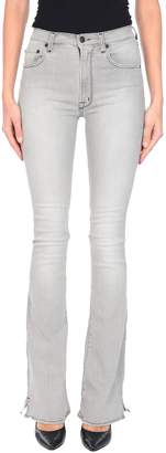 (+) People + PEOPLE Denim pants - Item 42713763SF