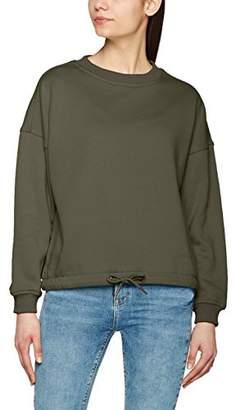 d12674802b086e Urban Classic Women's Ladies Oversized Crew Sweatshirt