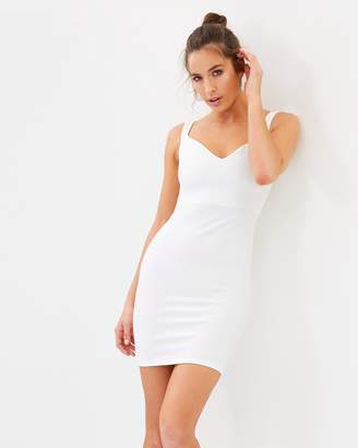 Missguided Sweetheart Bardot Dress