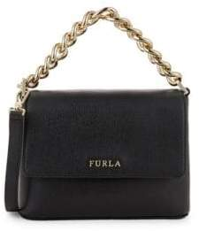 Furla Gaya Mini Curb Chain Crossbody Bag