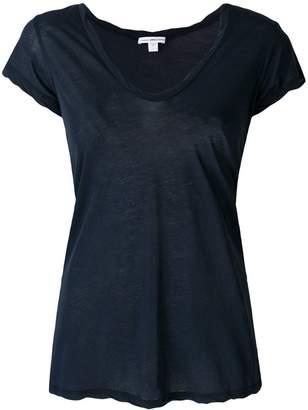 James Perse plunge neck T-shirt