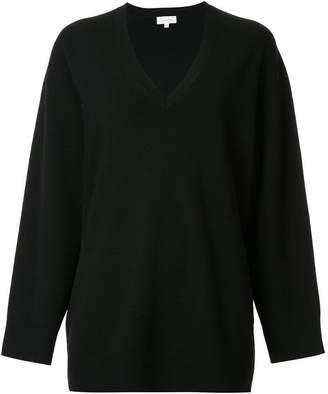 CK Calvin Klein low v-neck jumper