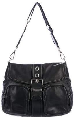 Prada Buckle Shoulder Bag