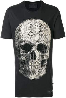 Philipp Plein Skull Print Cotton T-shirt