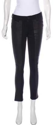 Alice + Olivia Faux Leather Skinny Pants