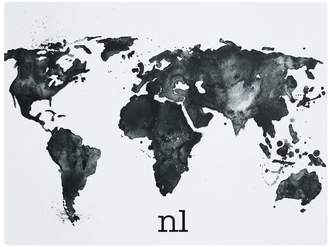 Desk mat shopstyle at pbteen pottery barn teen personalized desk mat world map gumiabroncs Image collections