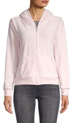 Juicy Couture Embellished Graphic Hoodie