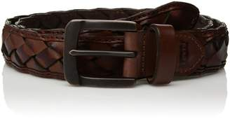Levi's Men's 1. in. Handcrafted Leather Braid Belt