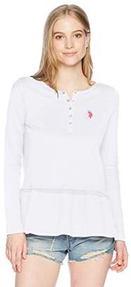 U.S. Polo Assn. Women's Long Sleeve Fashion T-Shirt