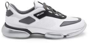 Prada Cloudbust Mesh Lace-Up Sneakers