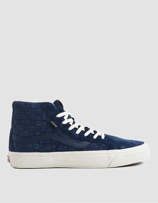 Vans Vault By OG SK8-Hi GTX LX Sneaker in Checkerboard Dress Blues