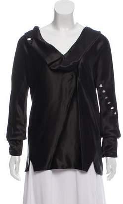 Marc Jacobs Beaded Silk Top