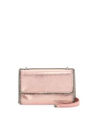 Stella McCartney Falabella Shiny Chain-Trim Crossbody Bag
