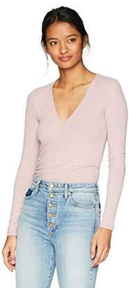 Soul Cake Women's Long Sleeved WRAP Bodysuit