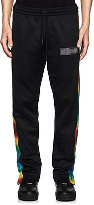 """Off-White c/o Art Dad Men's """"Essentially Time Traveling"""" Terry Track Pants"""