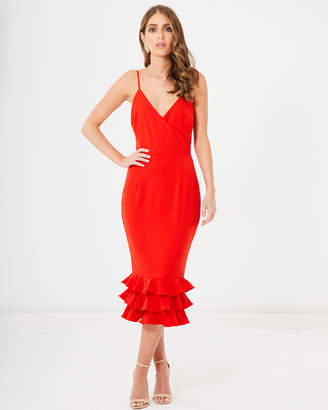 Kerrie Frill Hem Dress