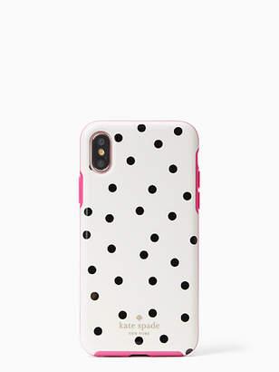 Kate Spade Dancing dot iphone x & xs case