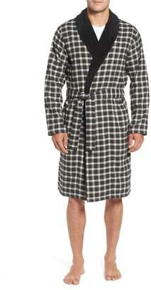 UGG Kalib Plaid Flannel Robe