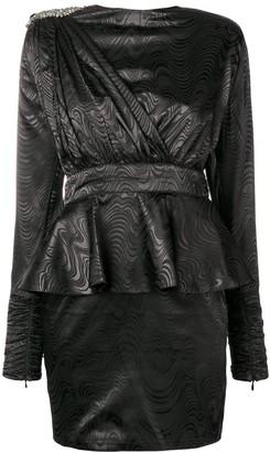 Dodo Bar Or sash detail mini dress