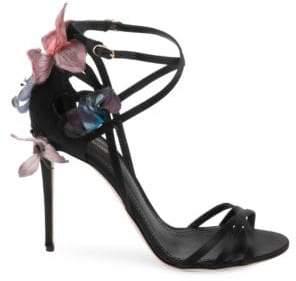 Dolce & Gabbana Knot Ankle-Strap Sandals