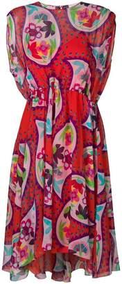 DELPOZO paisley print casual dress