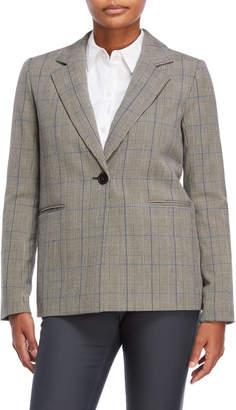 philosophy Grey Plaid Jacket