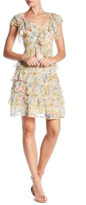 Love Sam Blossom Patterned Mini Dress