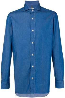 Luigi Borrelli button-down denim shirt