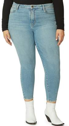 57af07c34b9 Sanctuary High Waist Ankle Skinny Jeans (Plus Size)