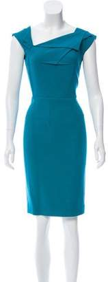 Roland Mouret Structured Knee-Length Dress