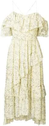 Ulla Johnson ruffled floral dress