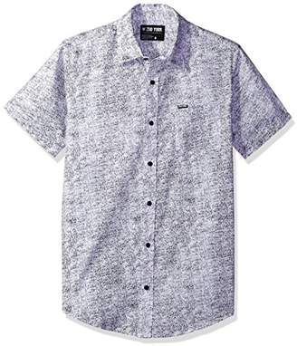 Zoo York Men's Short Sleeve Button Down Woven