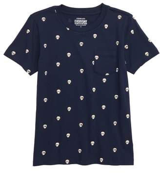 J.Crew crewcuts by Pocket Glow in the Dark T-Shirt