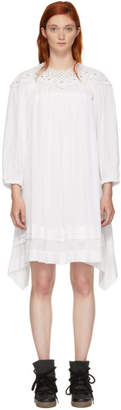 Etoile Isabel Marant White Rita Dress
