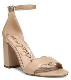 Sam Edelman Odila Leather Ankle Strap Sandals