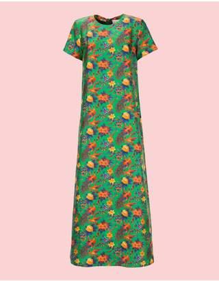 Riviera La Doublej Pavone Verde Swing Dress