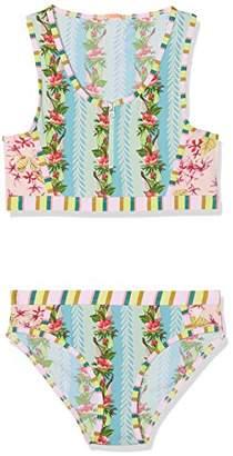 Scotch & Soda R ́Belle Girl's The Pool Side' Sporty Bikini Swimwear Set,(Manufacturer Size: 10)