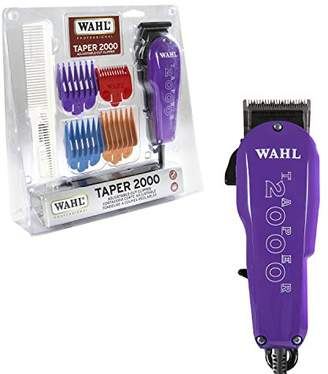Wahl Professional Taper 2000 Adjustable Cut Clipper -700 – Assorted Color Blade Attachments