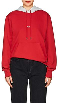 """Helmut Lang Women's """"Taxi"""" Cotton Terry Hoodie"""