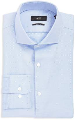 HUGO BOSS Men's Mark Sharp Fit Dress Shirt(, 16 x 32/33)