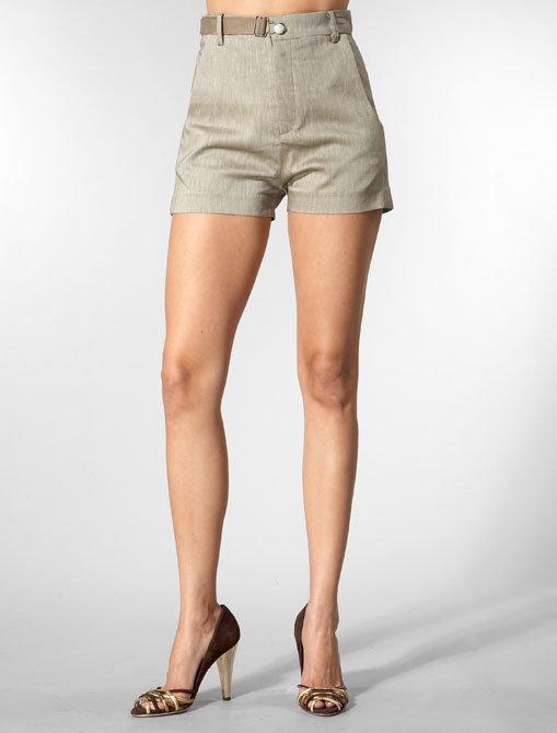 Grey Ant Belted Short