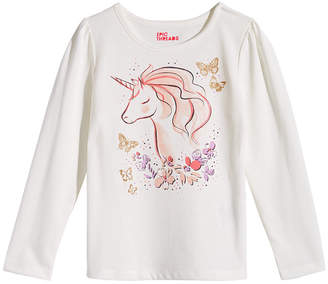 Epic Threads Toddler Girls Long-Sleeve Unicorn T-Shirt, Created for Macy's
